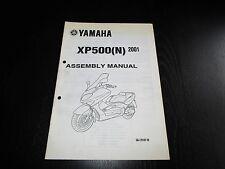 Yamaha XP 500 XP500 (N) 2001 Set-up Manual Montageanleitung Manuel