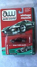 AUTO WORLD 2017 1/64 65 FORD GT 40 BLACK NEW RARE IN STOCK NOW