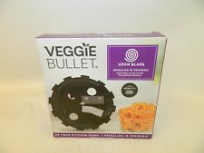 NIB Veggie Bullet Udon Blade 5mm Spiralize Food Processor Blender Nutribullet