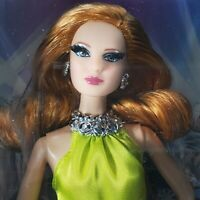 NRFB BARBIE ~N48) THE LOOK RED CARPET YELLOW DRESS LOUBOUTIN MODEL MUSE MIB DOLL