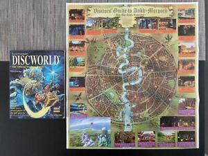 Discworld Game Guide Walkthrough + Map Of Ankh Morpork PC PS1 Terry Pratchett