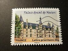 FRANCE 2012, timbre AUTOADHESIF 726 CHATEAU PALAIS DUCAL NEVERS oblitéré, CASTLE
