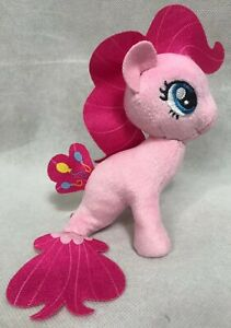 My Little Pony the Movie Pinkie Pie Sea-Pony Cuddly Plush Friendship Mermaid