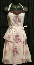 *+*HEART & SOUL*NWT $76*BOHO*TRIBAL BEAT*EMBROIDERED FLORAL HALTER & SKIRT*LG*+*