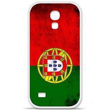 Coque housse étui tpu gel motif drapeau Portugal Samsung Galaxy S4 Mini