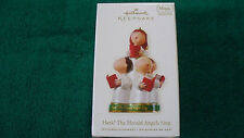 Hallmark Ornament   2008 HARK! THE HERALD ANGELS SING//2008 HARK! THE HERALD ANG