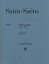 Henle Urtext Saint-Saens Oboe Sonata, Op. 166