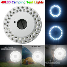 48 LED Outdoor Umbrella Night White Lamp Pole Light Tent Patio Yard Garden Lawn