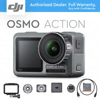 DJI Osmo Action 4K HDR Video Camera, RockSteady Stabilization, DUAL SCREENS