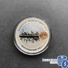 2010 Australia $1 UNC Tiger Coin Shanghai World Expo Pavillion PNC Perth Mint