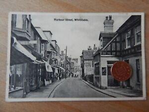 Vintage RP Postcard   Harbour Street Whitstable Kent - Ivoresque