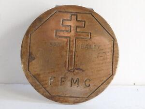 Car Club Badge.Federation Francais Motards & Citoyens.FFMC. Angry Bikers!