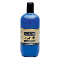 Supreme Products BLUE SHAMPOO Colour Enhancing For Grey White Horses 500ml 1L 5L