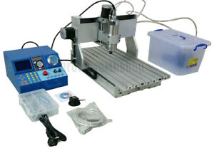 Desktop 800W 4 Axis CNC 3040 Router Milling Drilling Engraving Machine MACH3