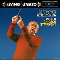 FRITZ REINER-BEETHOVEN: SYMPHONIES NO. 1,5,6,7,9 JAPAN SACD HYBRID Ltd/Ed Japan