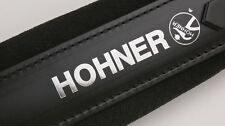 New Hohner Straps - ACC10 Black Accordion Leather Straps Large Anacleto Corona