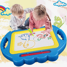 2Color Erasable Magnetic Drawing Board Educational Kid Doodle Toy with Pen