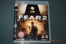 F.E.A.R 2 Projet Origin PS3 PLAYSTATION 3 Fear
