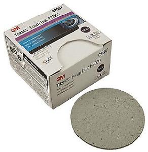 "3m 2087 3"" HookIt Trizact Foam Sanding Disc 3000 Grit 15 Pieces"
