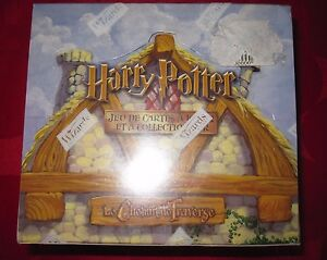 HARRY POTTER TCG LE CHEMIN DE TRAVERSE DISPLAY BOITE 36 BOOSTERS RARE scéllée