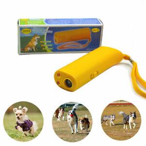 Ultrasonic Anti Barking Dog Repeller Train Control Device Bark Stop Trainer