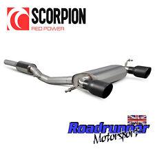 Scorpion Audi TT MK1 1.8 T Quattro Nuevo Sistema De Escape Negro colas de gato-SAU040C
