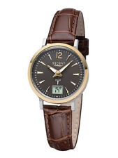 Regent Women's Watch Radio Controlled with Leather Strap ba-408 12030092
