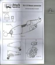 Attack Squadron Models 1/72 TS-11 ISKRA NOVAX Resin Conversion Set