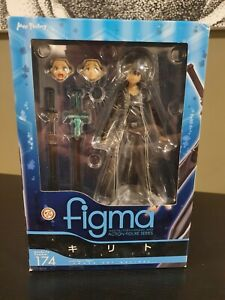 Figma 174 Action Figure Sword Art Online Kirito O.S version Authentic From Japan