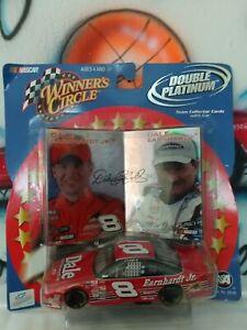 1:43 NASCAR Winner's Circle Double Platinum Dale Earhardt Jr. & Dale Earhardt
