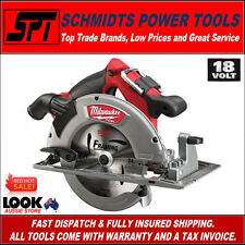MILWAUKEE M18CCS66-0 M18 18V FUEL 185mm BRUSHLESS CORDLESS CIRCULAR SAW 7-1/4""
