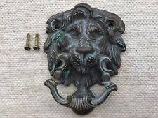 Door knocker vintage reclaimed brass Georgian style door knocker FREE POST
