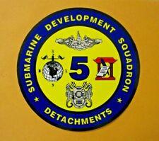 New listing Submarine Development Squadron Detachments Sticker