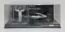 MINICHAMPS 1/43 F1 NICO ROSBERG MERCEDES PETRONAS W07 WORLD CHAMPION 2016 NEW
