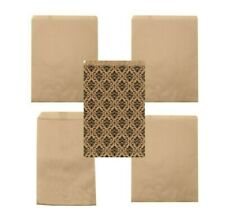 Kraft Paper Bags Brown Merchandise Favors Gift Wedding Candy Jewelry Package Lot