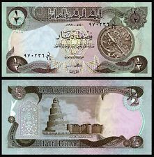 IRAQ 1/2 DINAR 1979 P 68 UNC BUNDLE OF (100 NOTES)