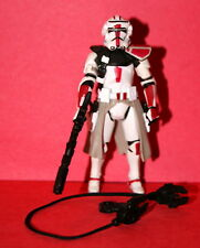 STAR WARS CLONE COMMANDER RED LOOSE COMPLETE
