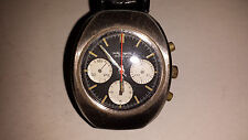 VINTAGE 3 REGISTER WALTHAM INCABLOC CHRONOGRAPH 17 JEWEL VALJOUX 7736 RUNS