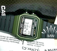 CASIO F91WM-3A DIGITAL BLACK RESIN Classic Sports Alarm Chronograph WATCH NEW