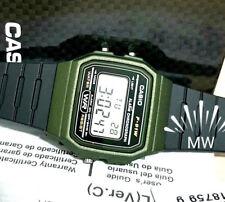 CASIO F91WM-3A DIGITAL BLACK RESIN Classic Sports Alarm Chronograph WATCH NEW