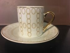 Classic Coffee and Tea Demitasse Cup and Saucer Tea Cup