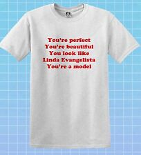 Aja Perfect T-shirt Beautiful Evangelista GAY Tee Drag Race Pride Valentina