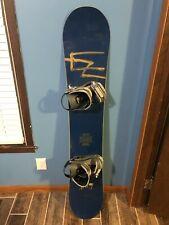 Burton Se7en Snowboard & Rossingnol Bindings