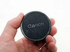 Vintage Official CANON JAPAN Soft Body cap for CANON FD SLR camera
