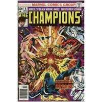 Champions (1975 series) #8 in Very Fine condition. Marvel comics [*wj]