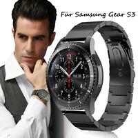 Echtes Edelstahl Herren Luxus Armband Smart Uhrenarmband für Samsung Gear S3