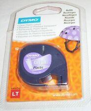 Dymo LetraTag LT 12267 Clear plastic label refill 12mm x 4m