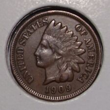 1909 Indian Head Cent , VF