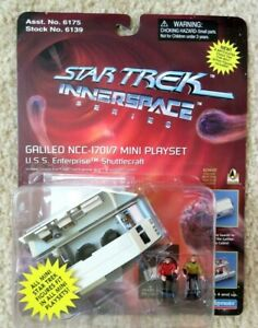 Star Trek Inner Space Series Galileo NCC-1701/7  Mini Playset Playmates New