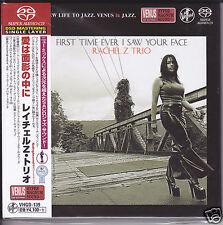 """Rachel Z Trio First Time Ever I Saw Your Face"" Japan Venus Records DSD SACD CD"